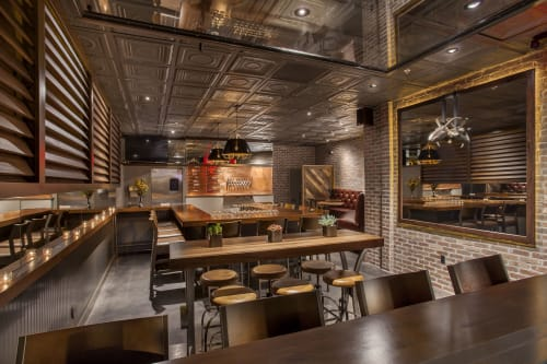 Tiles by Armstrong Ceilings seen at Scapegoat Beer and Wine, Scottsdale - Tiles