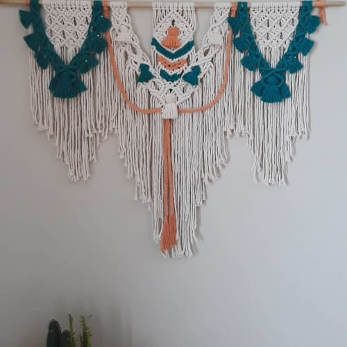 Tangled Up In Knots - Macrame Wall Hanging and Art