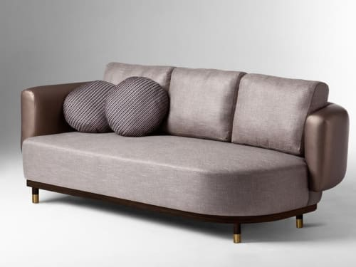 Couches & Sofas by Marie Burgos Design and Collection seen at Creator's Studio, New York - Single Man Sofa