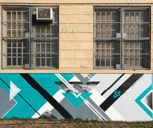 Street Murals by LAMKAT seen at The Brooklyn Latin School, Brooklyn - Stoked for BK Latin School