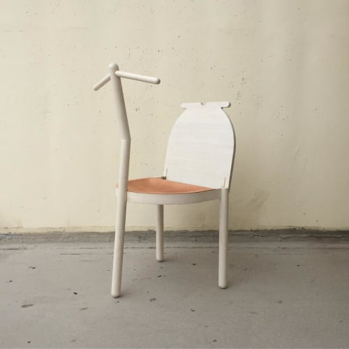 Chairs by Reed Hansuld at The Liberty Warehouse, Brooklyn - Valet Chair No. 2