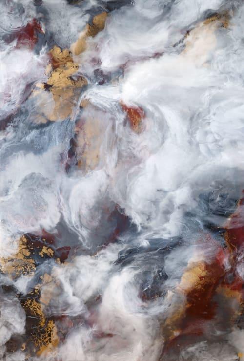 Amutra | Paintings by Frankie Hsu - Illyra | Iris-Kaplan Center in New York