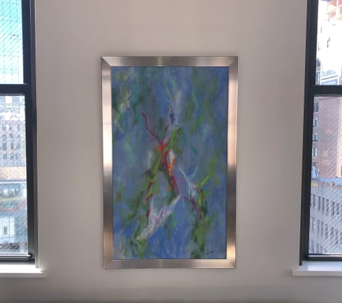 Paintings by Lisa Collins seen at Private Residence, New York - Lively