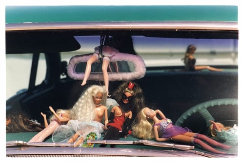 Photography by Richard Heeps seen at Private Residence, London - Oldsmobile & Sinful Barbie's, Las Vegas, Nevada, 2001