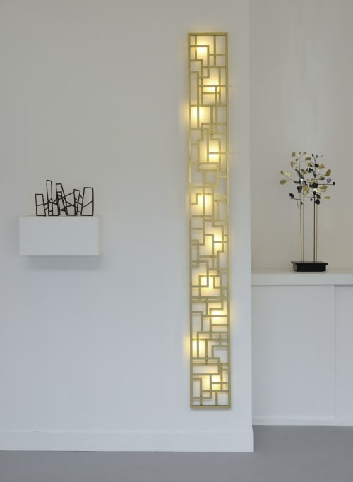 Geometric Wall Light