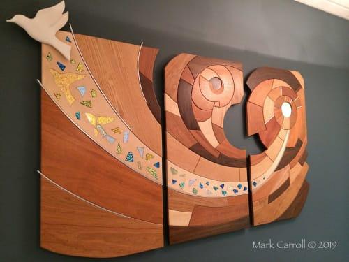 Murals by The Sculpture Studio LLC seen at Tonawanda, Tonawanda - Unifrax Mural