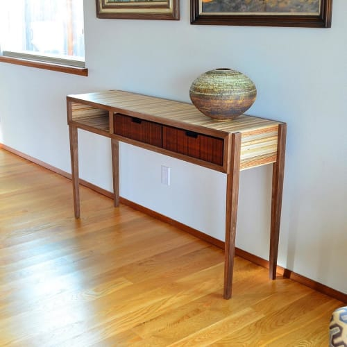 Tables by Steve Lawler seen at Private Residence, Tacoma - Console Table