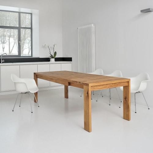 Tables by vitamin design seen at vitamin design / MODUM @ DONA Handelsgesellschaft mbH, Hamburg - Table LUNGO Extendable