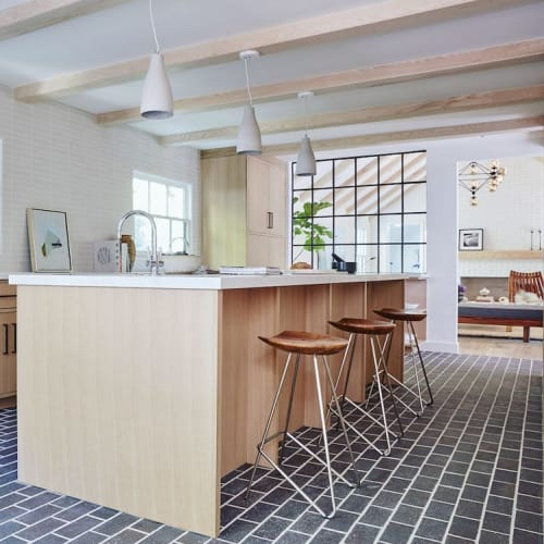 Chairs by From the Source seen at Private Residence, Beverly Hills - Perch Counter Stools