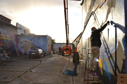 KUZB136 - Street Murals and Paintings