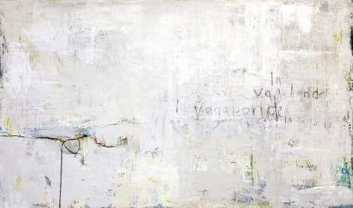 Paintings by Elizabeth Bridy seen at Huit, Laguna Beach - La Vagabond