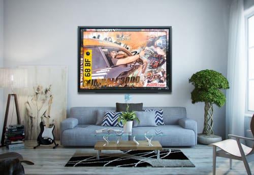 Dan Pearce - Paintings and Wall Hangings