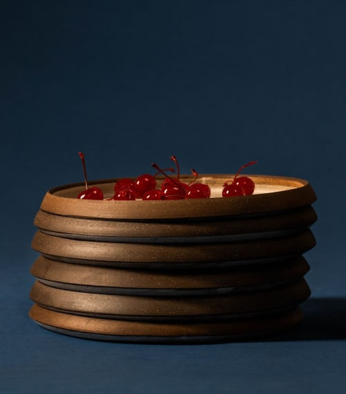 Ceramic Plates by Episode seen at Drifters Wife, Portland - Concave Plate