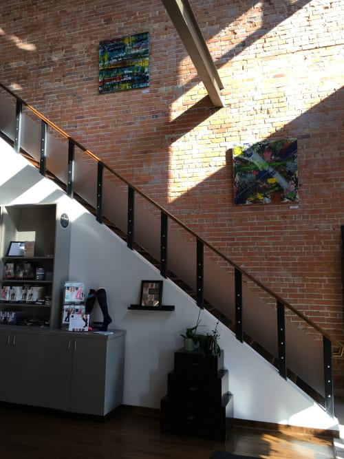Paintings by Nora Harvey Artist seen at Solace, Windsor - Nora Harvey