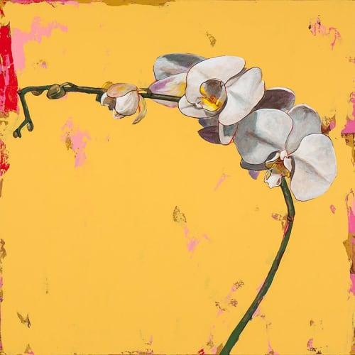 Paintings by David Palmer Studio seen at Pasadena, Pasadena - Orchids #3