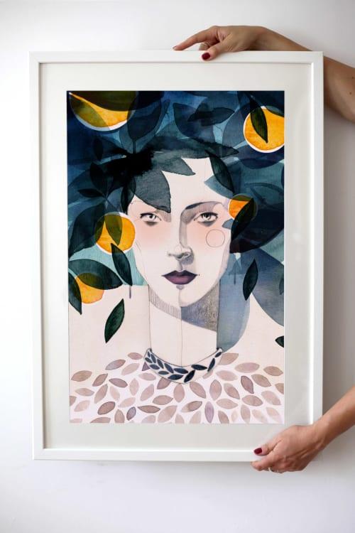 Art & Wall Decor by Ekaterina Koroleva seen at Kopenhagener Straße, Berlin - Citrus Fine Art Print