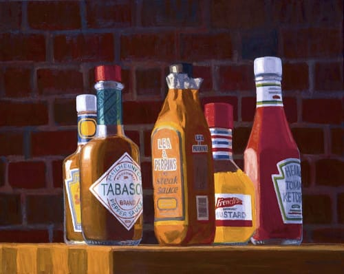 Paintings by William Low seen at Scottsdale, Scottsdale - Condiments