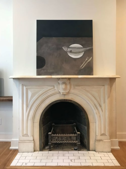 Paintings by Britt Bates seen at Private Residence, Savannah - A Place For Me