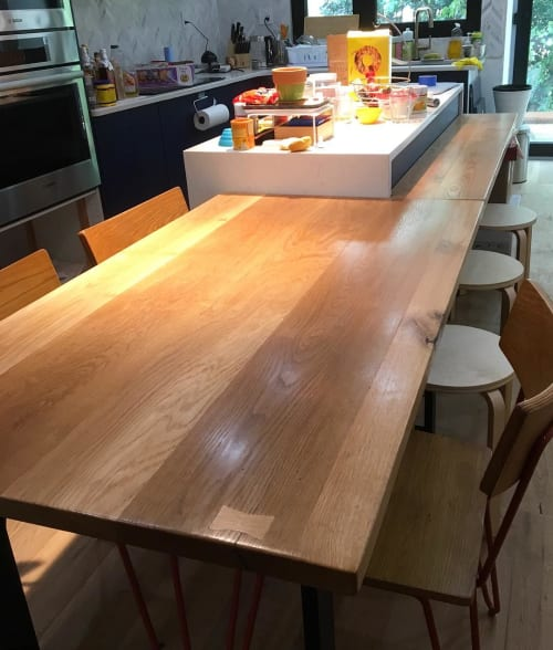 Furniture by Elias Furniture seen at Private Residence, Jersey City - Kitchen Island Top