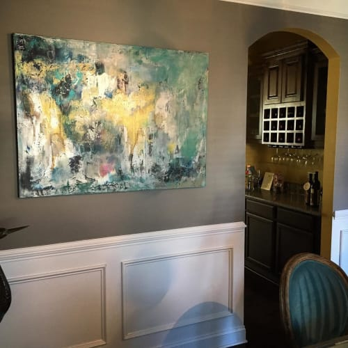 "Paintings by Courtney Kolker seen at Private Residence - ""Perfection"" Painting"