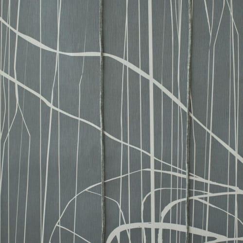 Wallpaper by Jill Malek Wallpaper - Babylon   Dimensional Felt