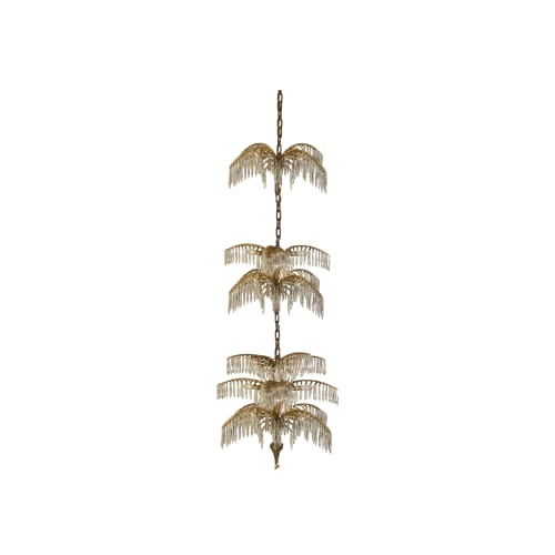 Chandeliers by Woka Lamps Vienna seen at H A R R Y W I N S T O N ( Xin Tian Di Dian ), Huangpu Qu - Josef Hoffmann  Palme Shanghai Chandelier  1914 / Edition