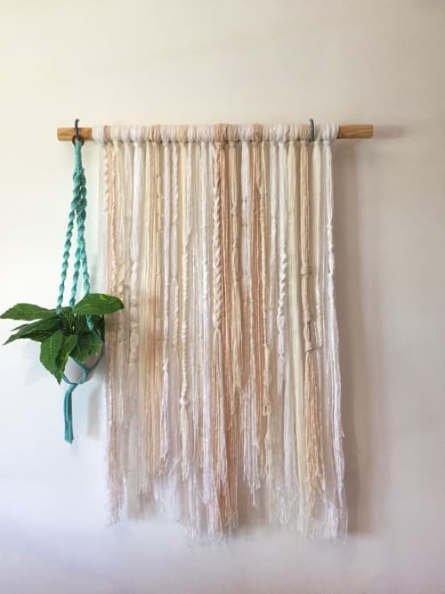Wall Hangings by ORIS DESIGN seen at Selina Montañita, Montañita - Whitey wall hanging