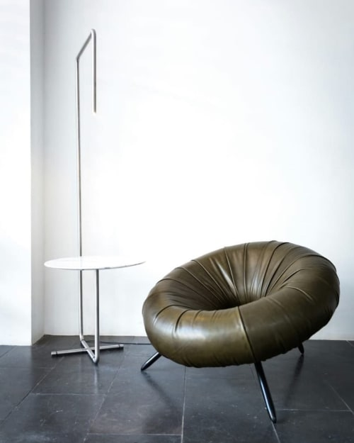 Chairs by 1Nayef Francis seen at Nayef Francis Design Studio, Beirut - Float Arm Chair