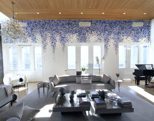 Art & Wall Decor by Carson Fox Studio seen at Private Residence, New York - Wisteria
