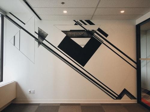 Murals by LAMKAT seen at ASB Toronto, Toronto - Edit Room Mural