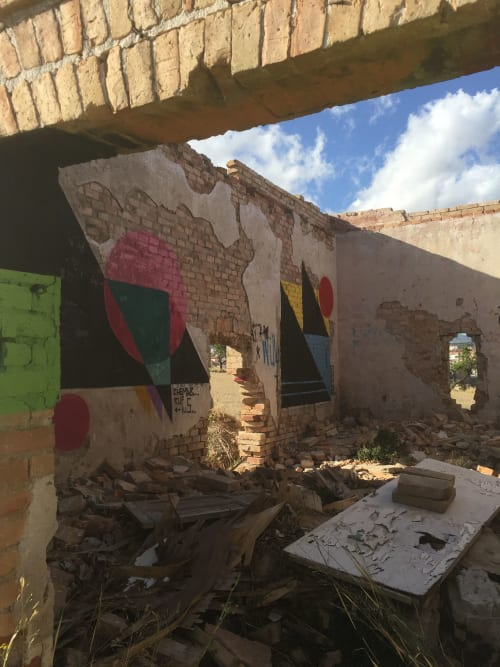 Chema-b* (Chemapiko) - Street Murals and Public Art