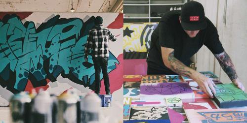 Aaron Whisner - Art and Street Murals