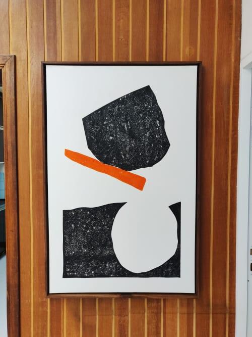 Paintings by Maarten De Naeyer seen at Leuven, Leuven - Crash Tactics