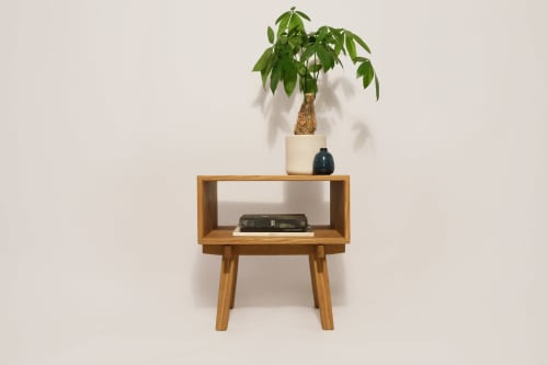 Belfry Side Table | Tables by Oliver Inc. Woodworking