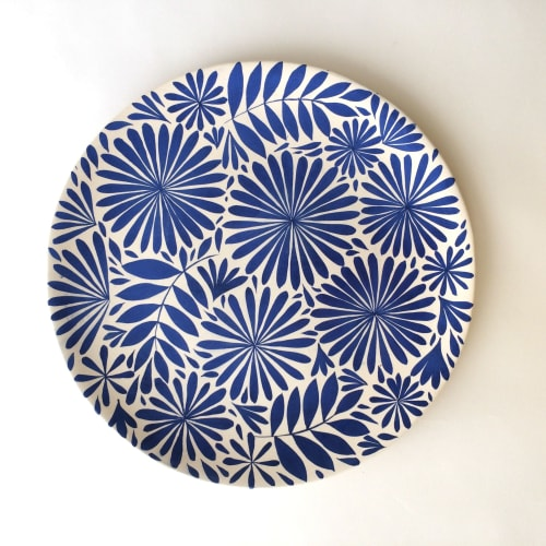 Ceramic Plates by Anastasia Tumanova seen at San Francisco, CA, San Francisco - Blue Reverie Plates