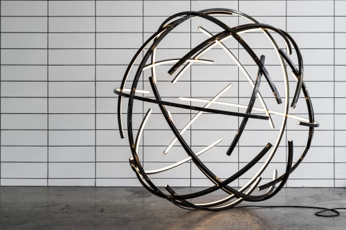 Lighting by James Russ seen at Private Residence, Auckland - Atomic