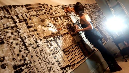 Novei Beige - Paintings and Art