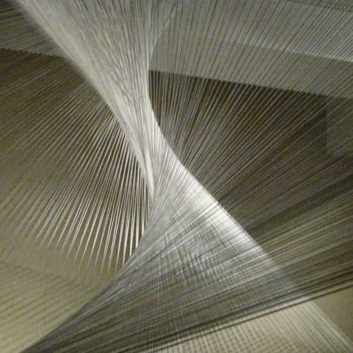 "Art & Wall Decor by Amie Adelman seen at Breckenridge Fine Arts Center, Breckenridge - ""Linear Motion II"""