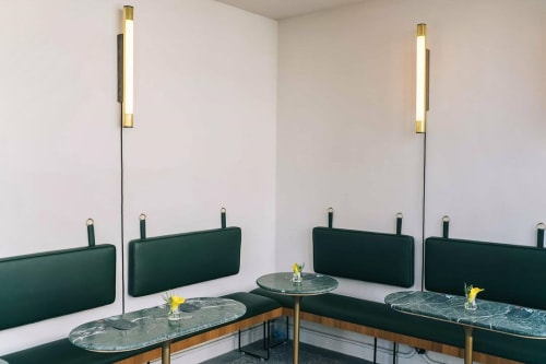 Sconces by Blom & Blom seen at Livingreen Design, Loanhead - Woodpecker