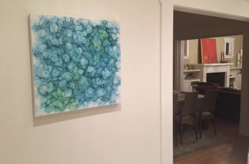 Paintings by Hoai Not Art seen at Private Residence, Vancouver - Fresh Cut