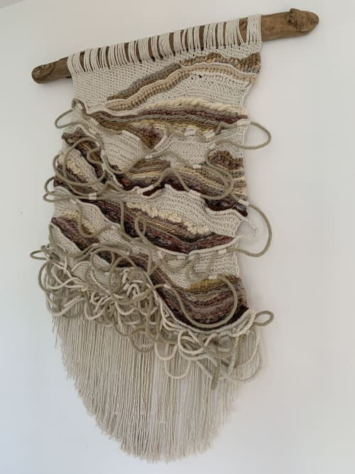 Wall Hangings by Sarah Simonds seen at Private Residence, Great Linford - Ebb and Flow