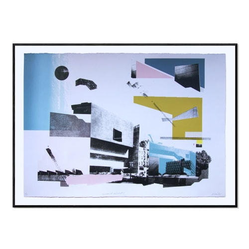 Paintings by Angus Vasili seen at Private Residence - Adjustment Architecture