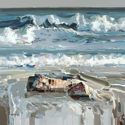 "Art & Wall Decor by YJ Contemporary seen at East Greenwich, East Greenwich - Josef Kote ""Mesmerizing Waves"""