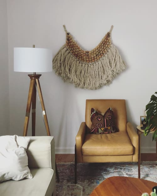 Wall Hangings by Liz Robb seen at Private Residence, Los Angeles - Deconstructed Rosario