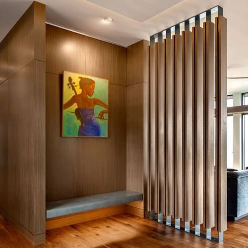 Furniture by Thomas Philips Woodworking seen at Private Residence, Victoria - Custom Millwork