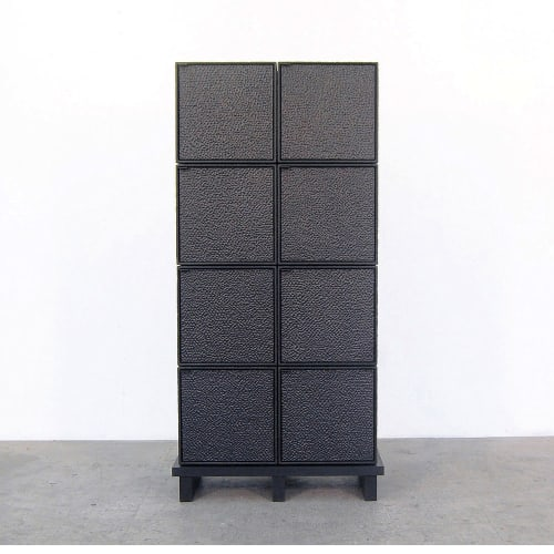 Furniture by John Eric Byers seen at Private Residence, New York - 8 Cubes Chest of Doors