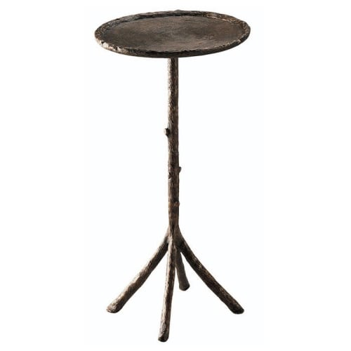 Tables by Corbin Bronze seen at Private Residence, Atlanta - Twig Table