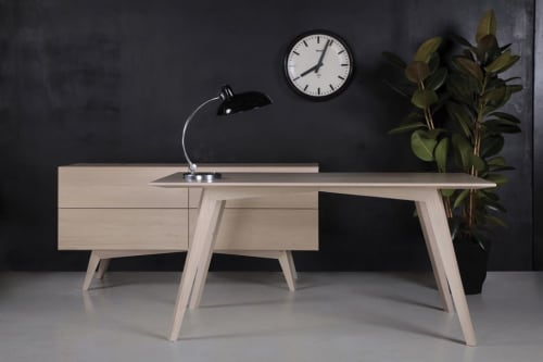 Tables by Toncha Hardwood seen at Creator's Studio, Langley City - ERA X Table