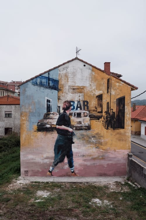 Udatxo - Street Murals and Murals