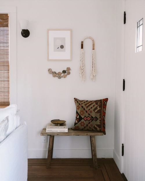 Wall Hangings by FIBROUS seen at Private Residence, Sacramento - Small Wall Doodle